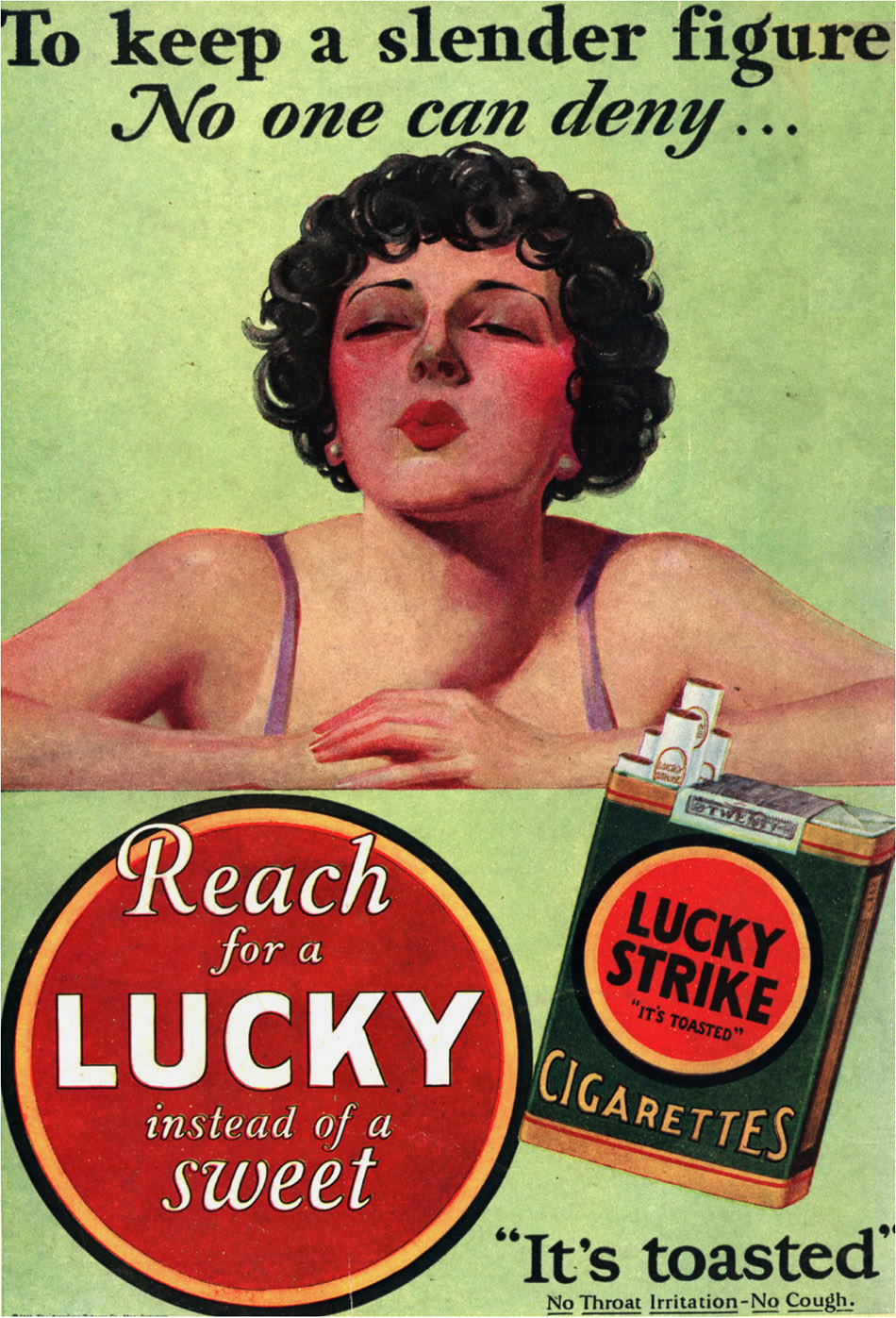 tobacco companies and their three advertising